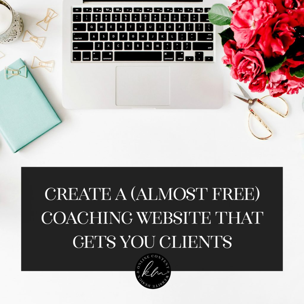 create a coaching site that gets you clients free