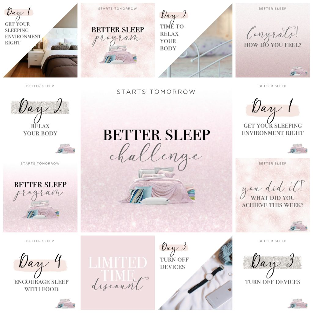 Better Sleep - pink sparkle
