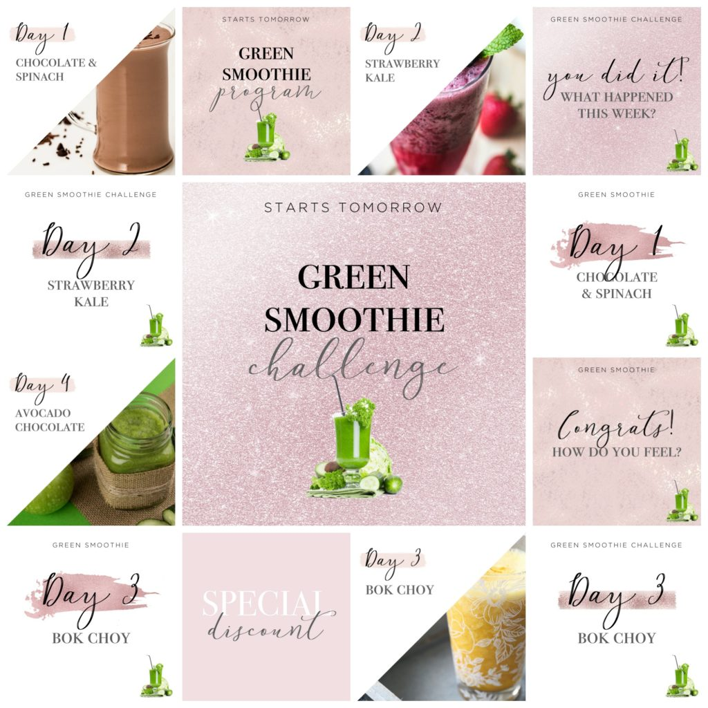 GREEN SMOOTHIE - PINK SPARKLE