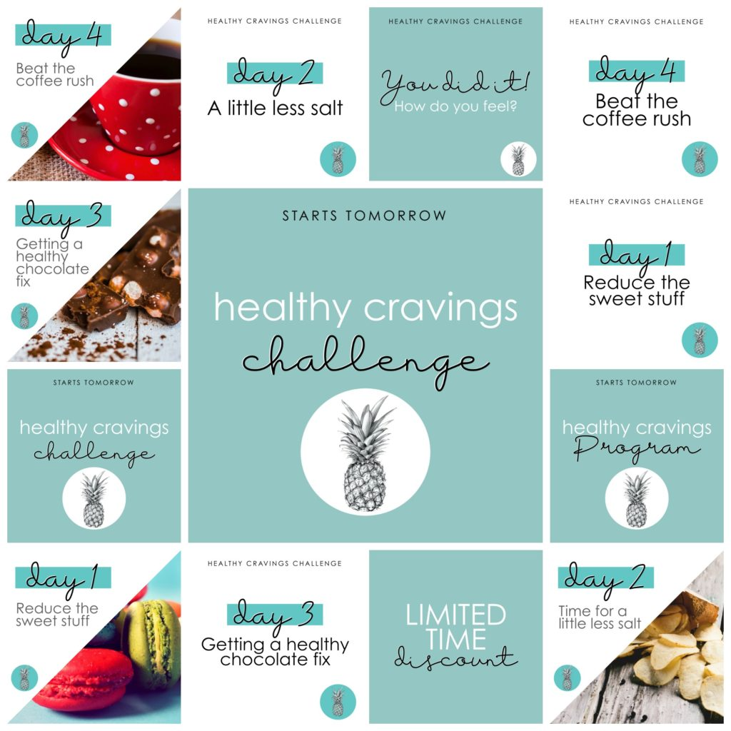 Healthy cravings - editable