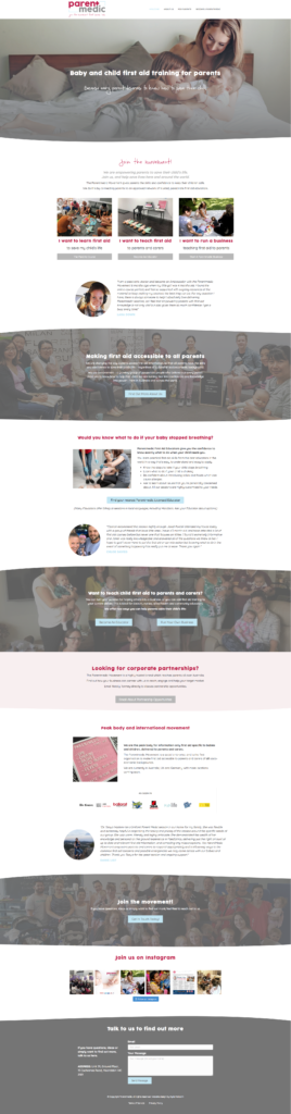 health medical website design template