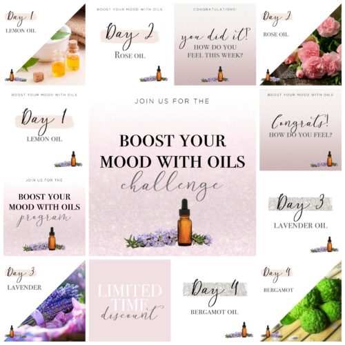 Boost Mood Oils Challenge Done For You Health