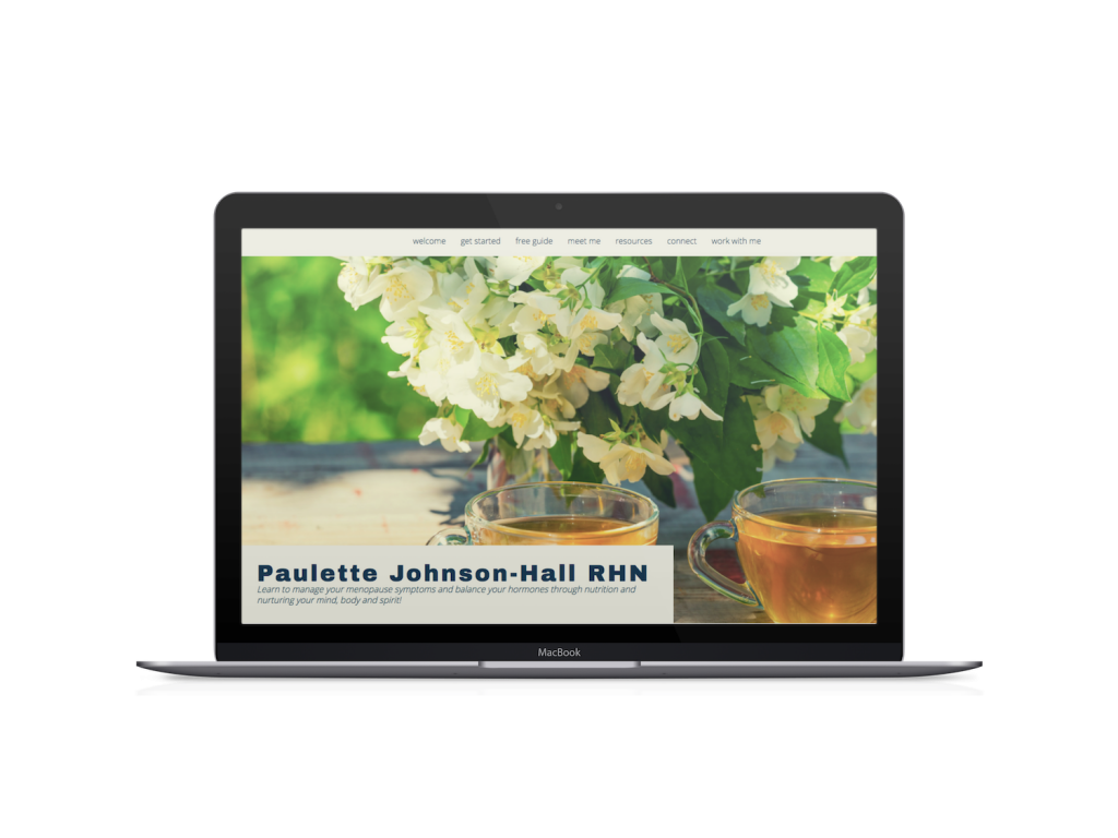 paulette coaching website design examples