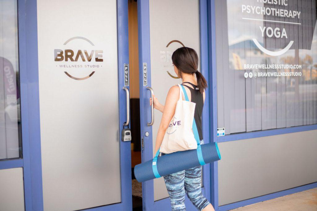 yoga studio squarespace website design