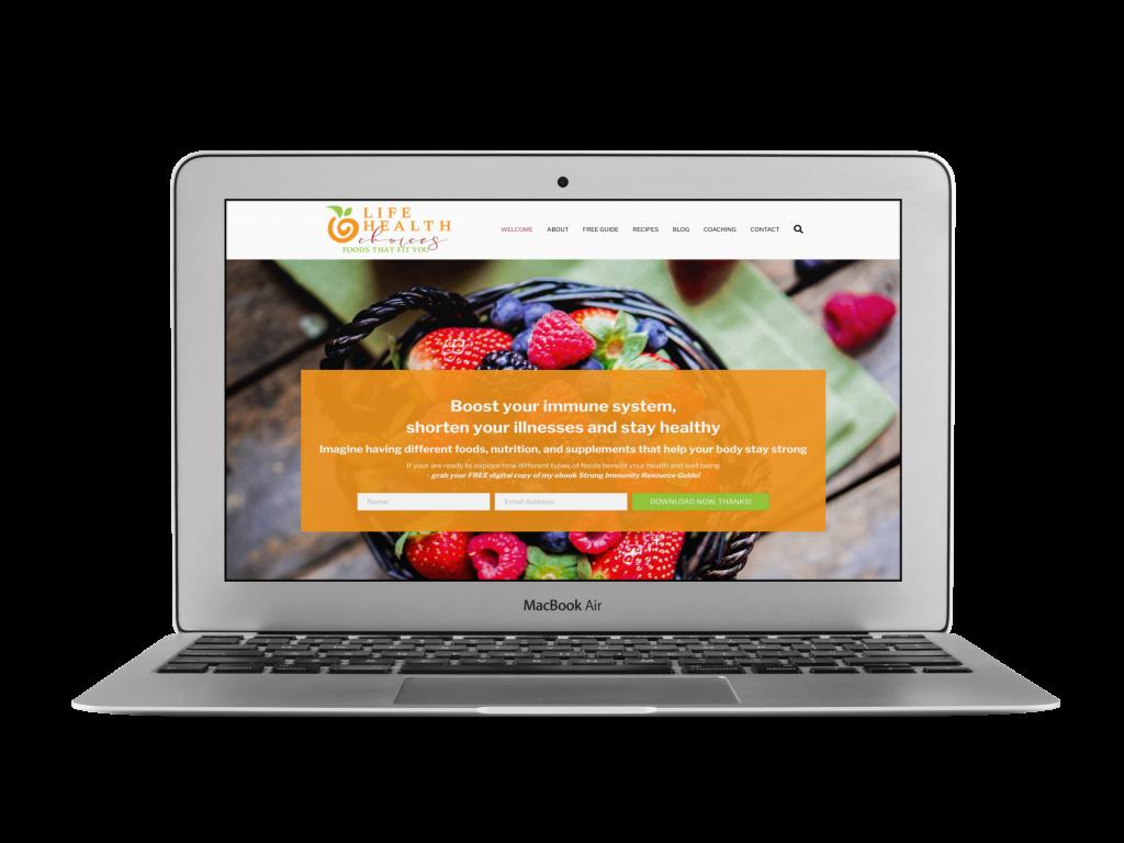jamie coaching website design examples