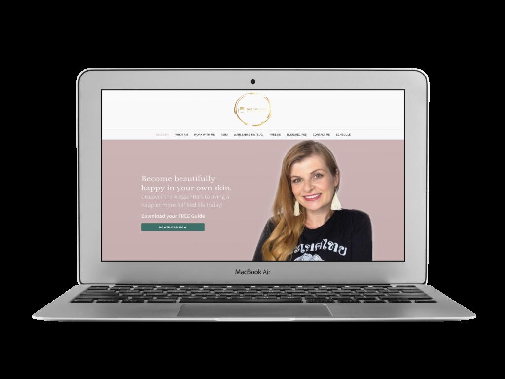 sylvie coaching website design examples