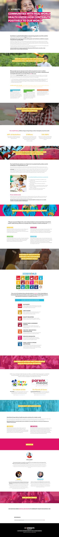 Contribute GRoup Health Platform website design small