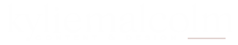 kyliemalcolm.com logo white