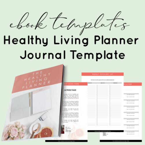 Planner journal template