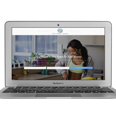 sharon coaching website design examples