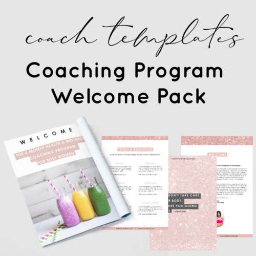 done for you health coach plr journal